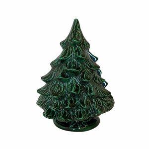 Vintage Ceramic Christmas Tree Napkin/Card Holder